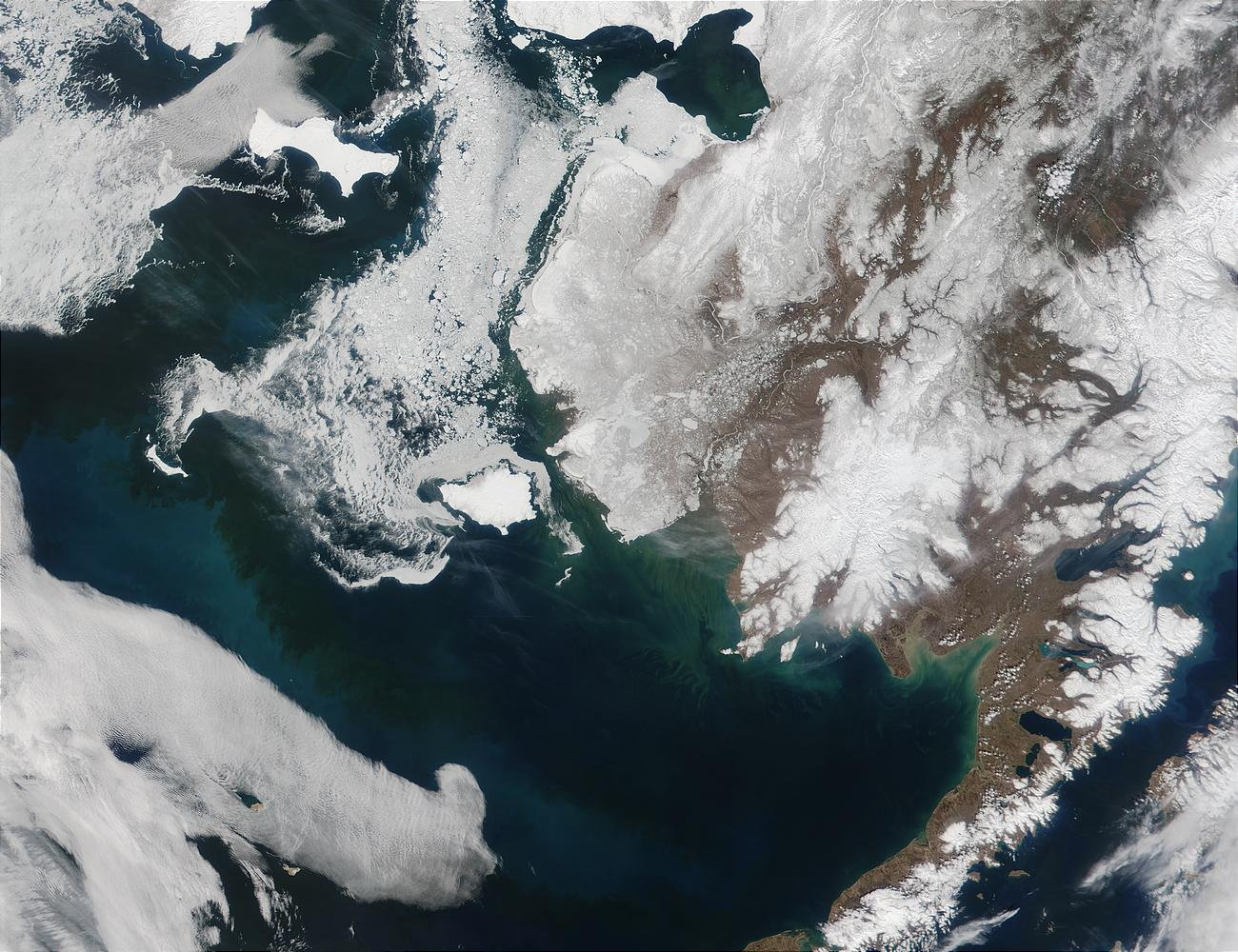 Alaska and the Bering Strait - related image preview