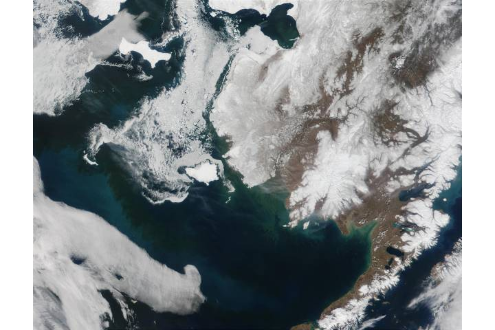 Alaska and the Bering Strait - selected image