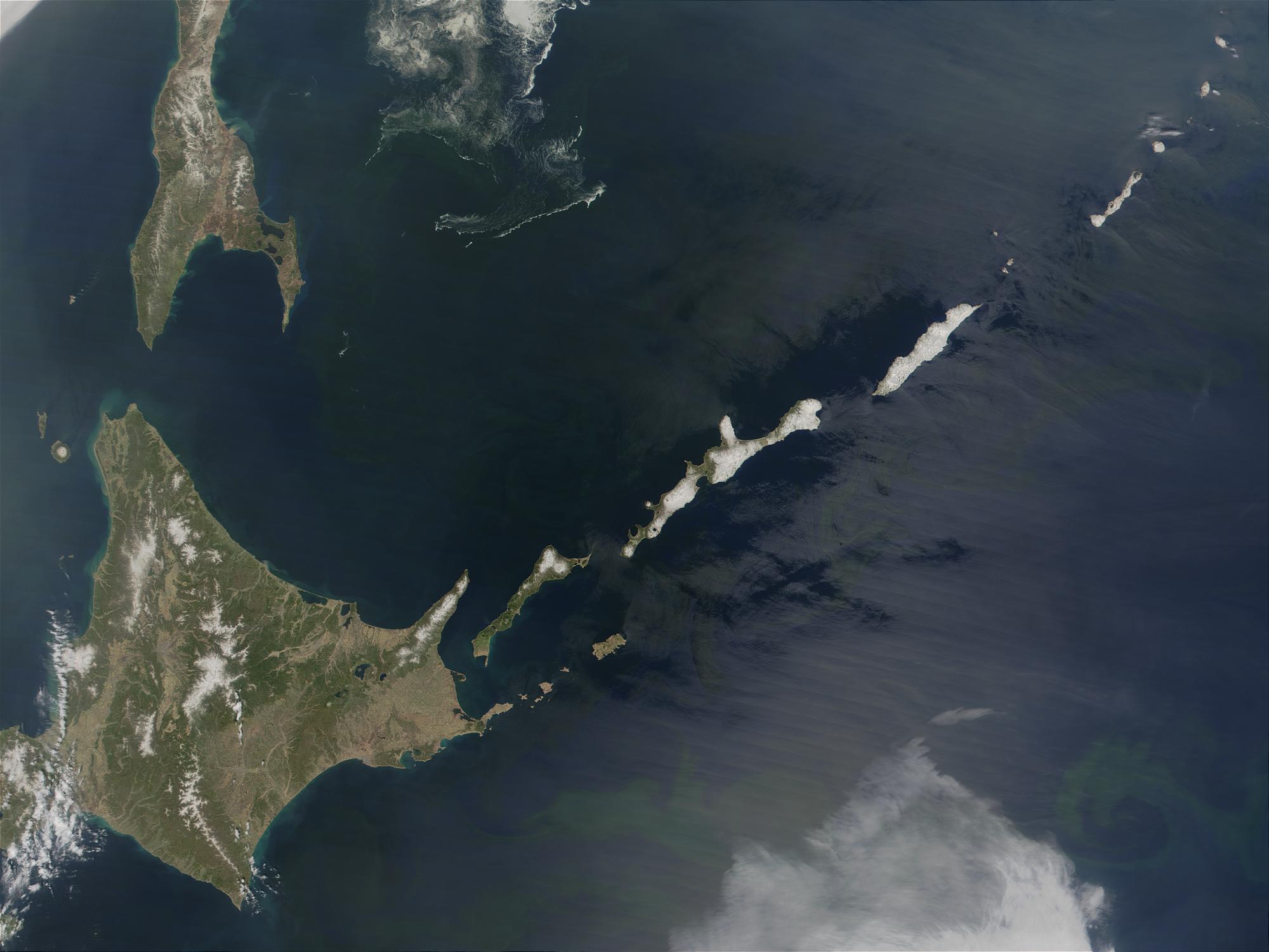 Hokkaido (Japan) and Kuril Islands (Russia) - related image preview