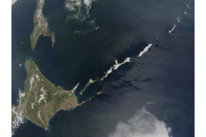 Hokkaido (Japan) and Kuril Islands (Russia) - selected image