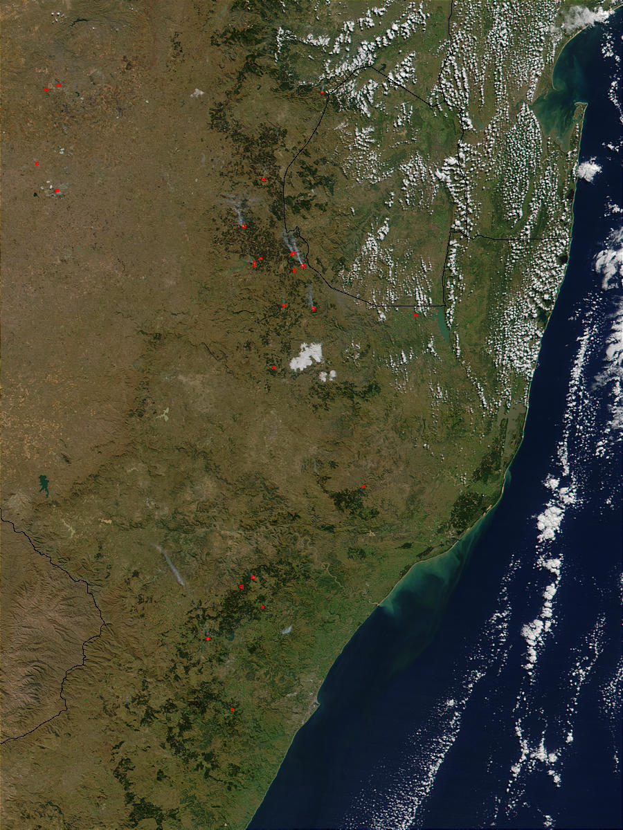 Fires in South Africa - related image preview