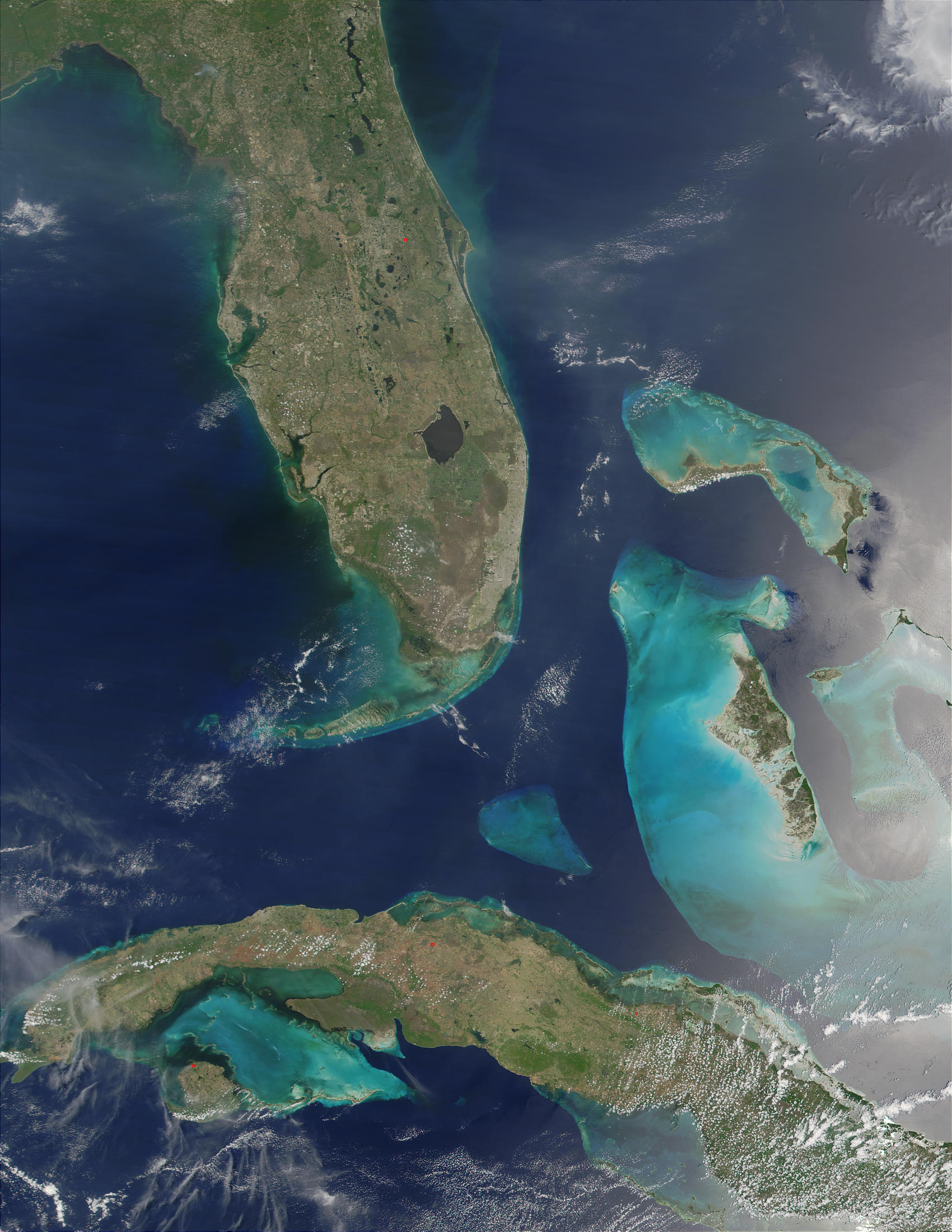 Florida, Bahamas and Cuba - related image preview