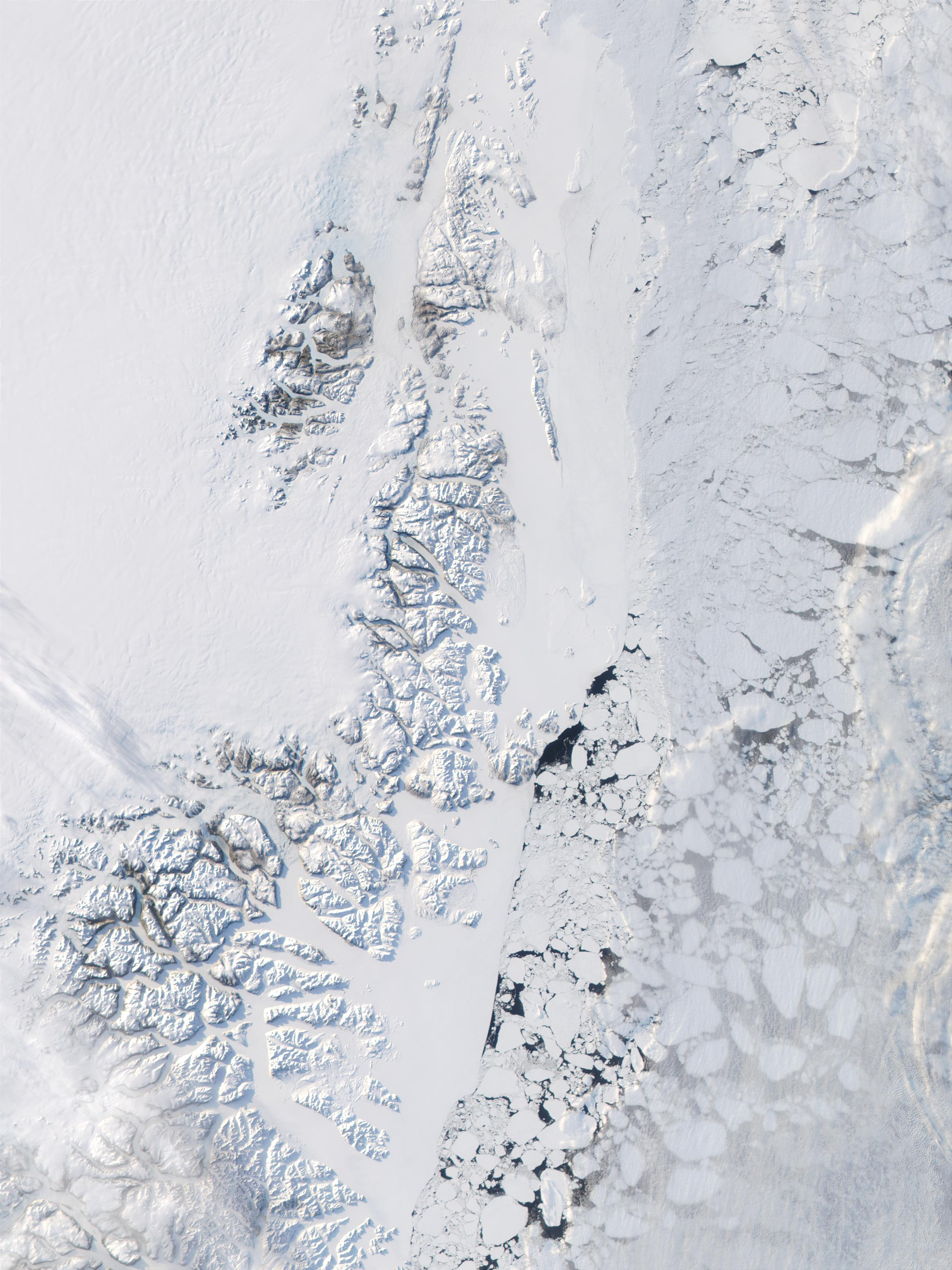 Eastern coast of Greenland and Greenland Sea - related image preview