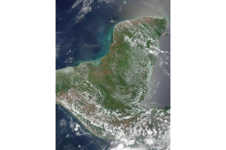 Fires in Mexico, Guatemala, and Honduras - selected image
