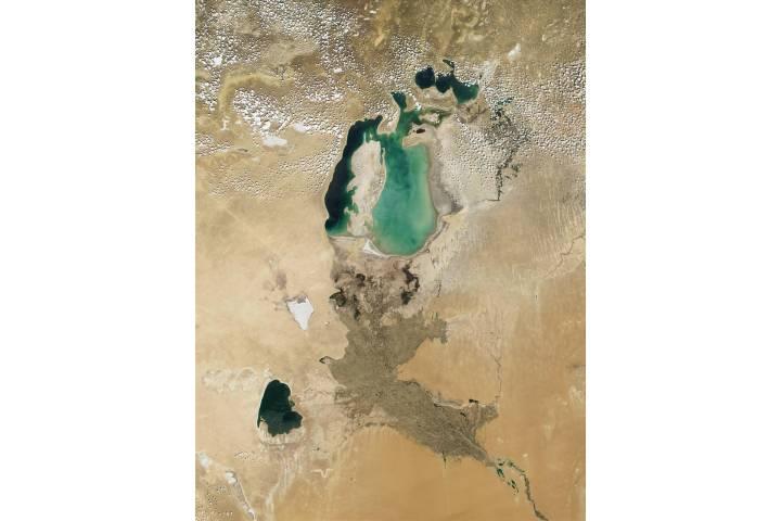 Aral Sea - selected image