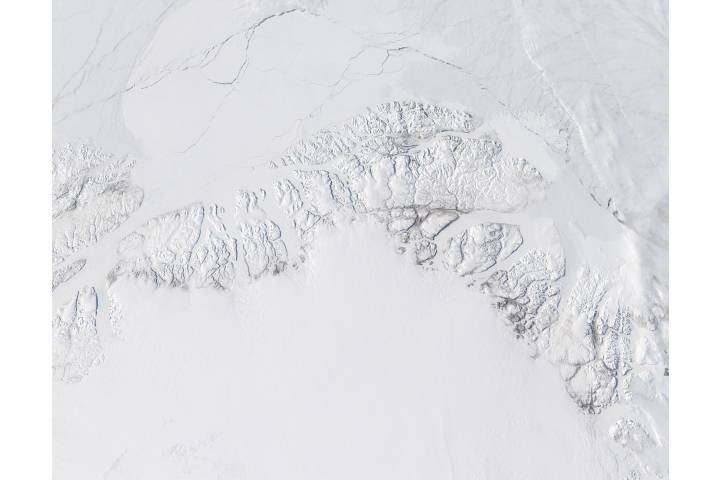 Northern coast of Greenland - selected image