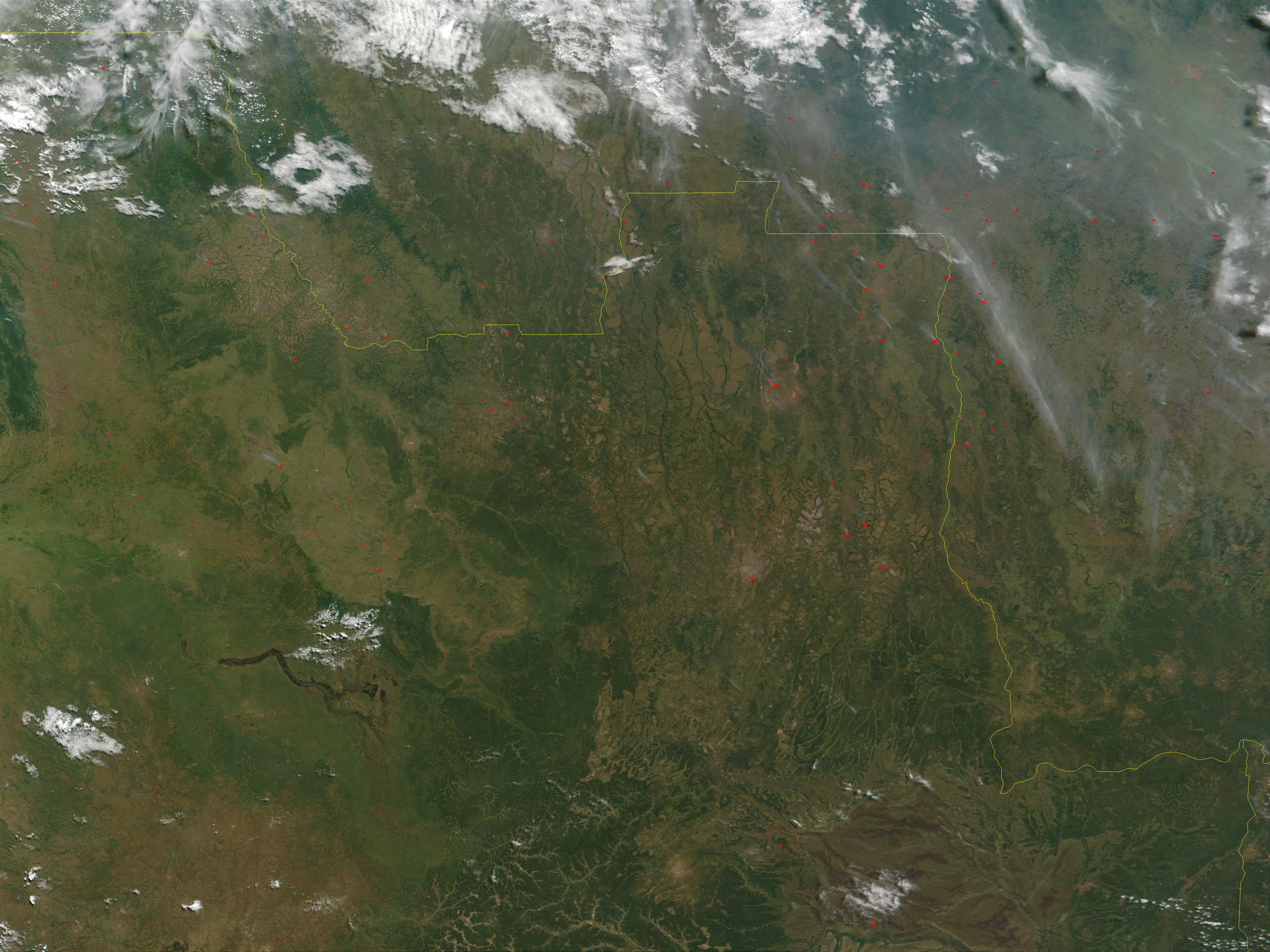 Fires in Angola and Democratic Republic of the Congo - related image preview