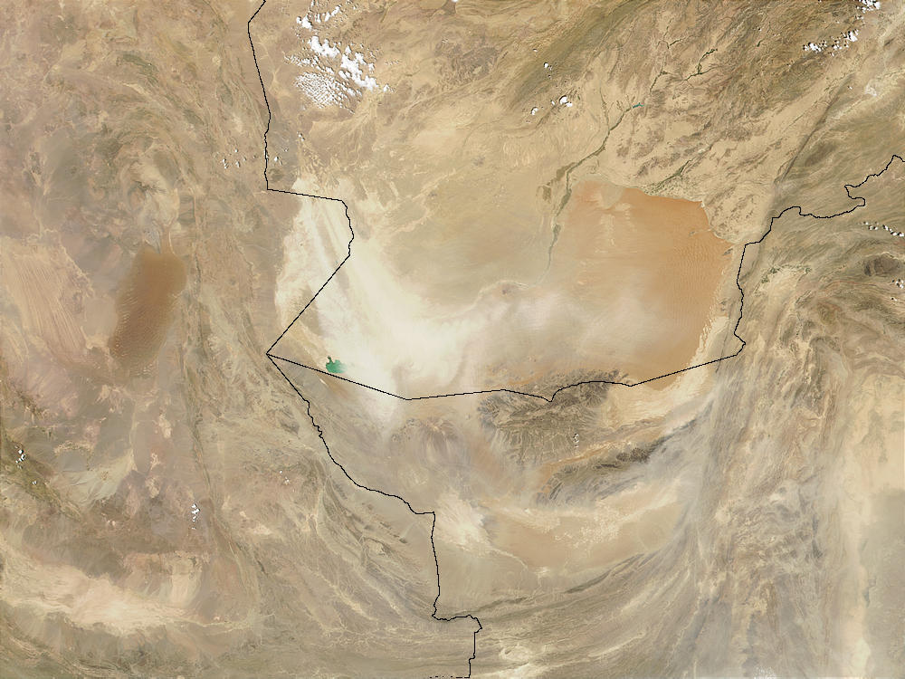 Dust storm in Southern Afghanistan - related image preview