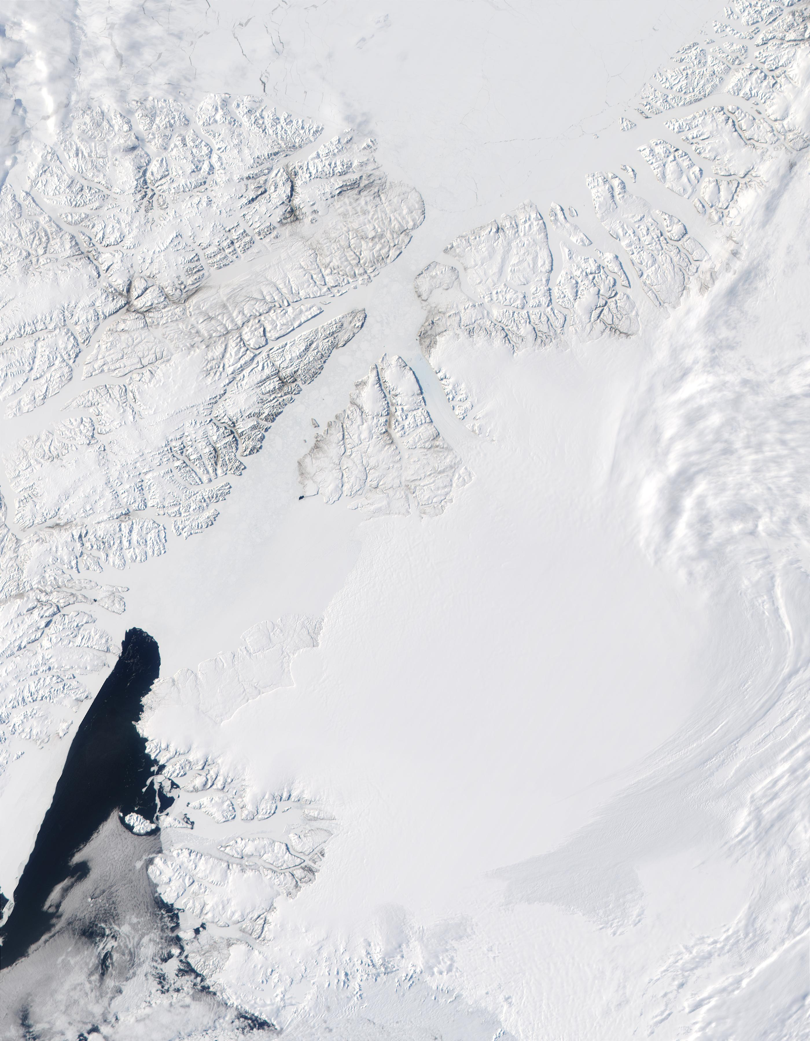 Ellesmere Island (Northern Canada) and north coast of Greenland - related image preview