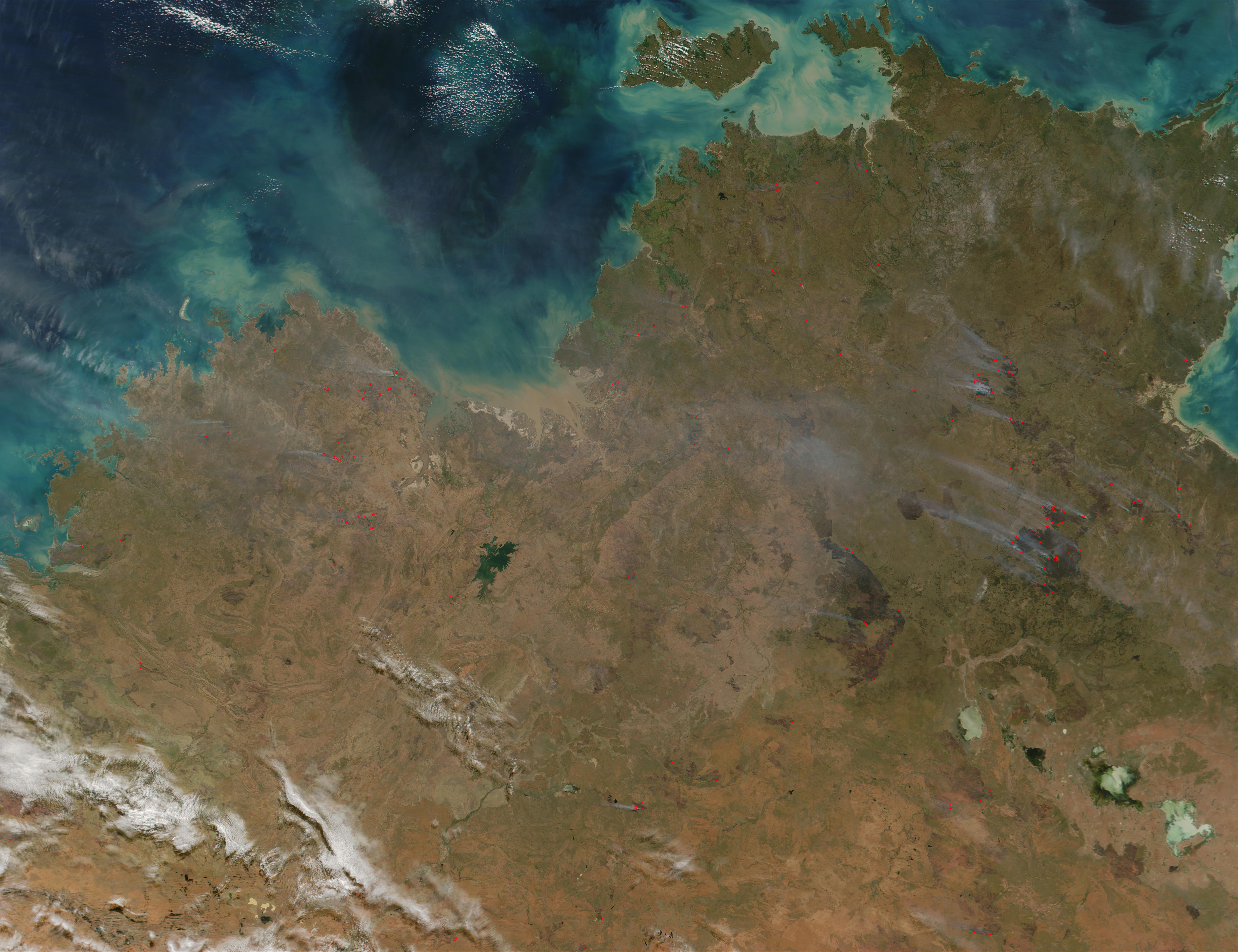 Fires in Northern Australia - related image preview