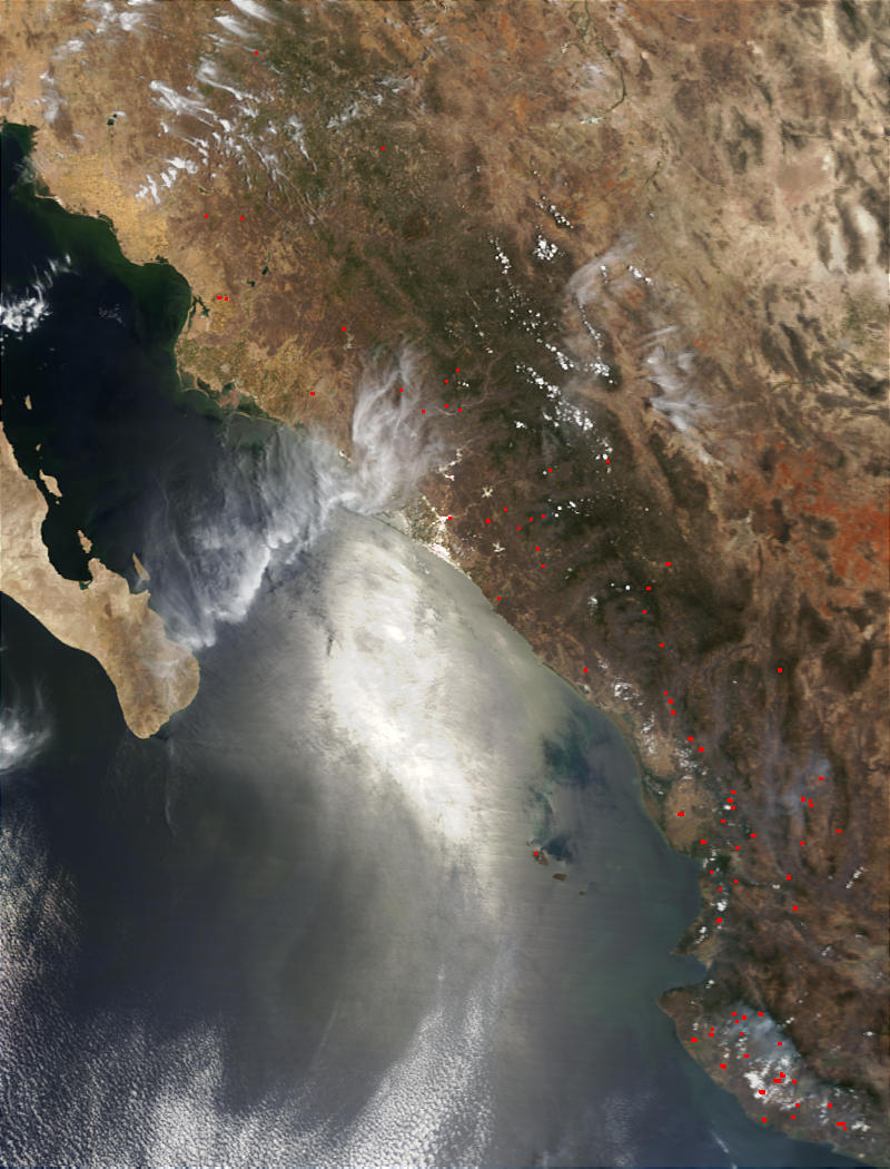 Fires in Sinaloa, Mexico - related image preview