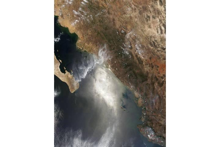 Fires in Sinaloa, Mexico - selected image