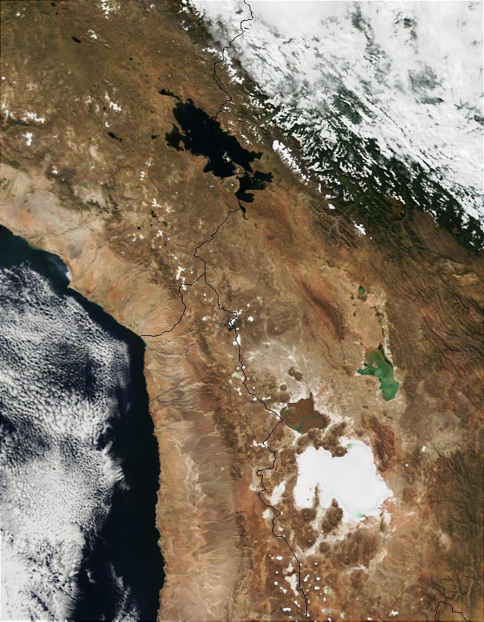 Lake Titicaca (Peru and Bolivia) and Salar de Uyuni (Bolivia) - related image preview
