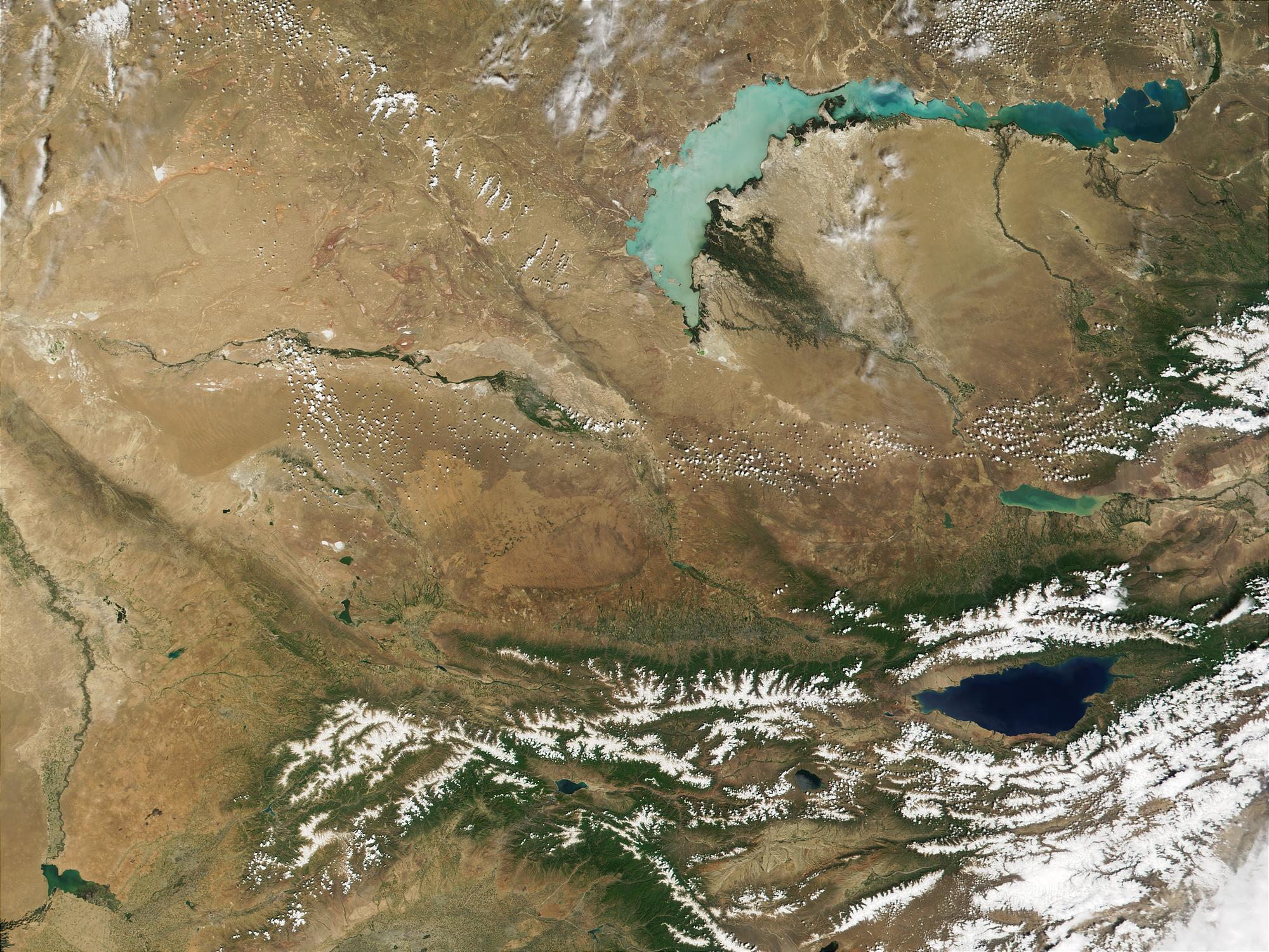 Kazakhstan and Kyrgyzstan - related image preview