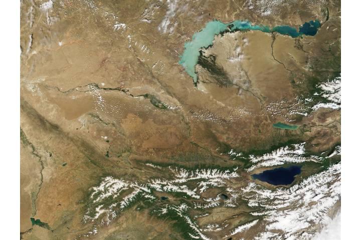 Kazakhstan and Kyrgyzstan - selected image