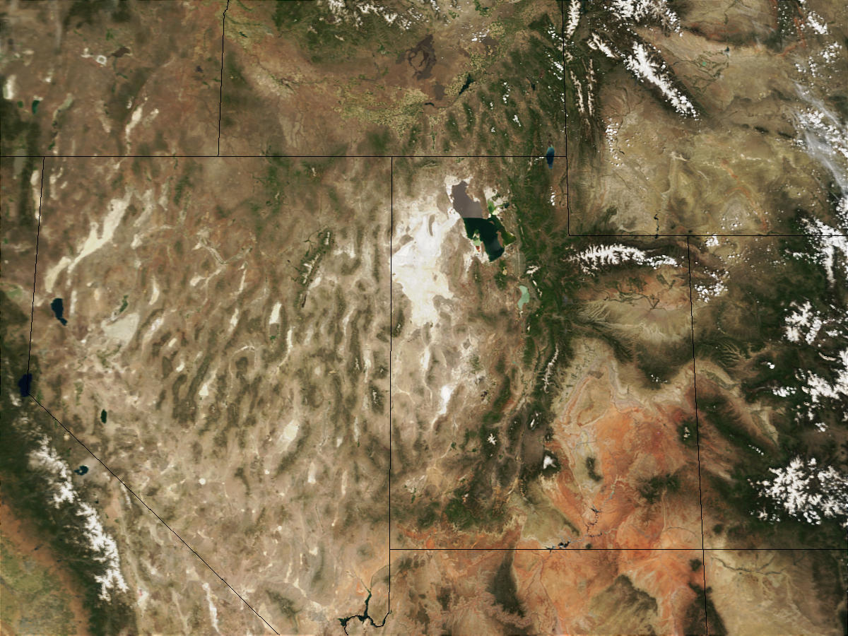 Nevada and Utah (Input Direct Broadcast L1B data courtesy SSEC) - related image preview