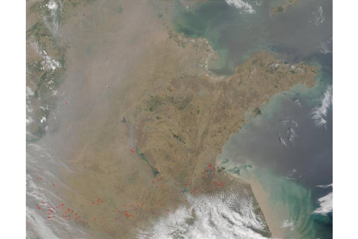 Fires in China - selected image