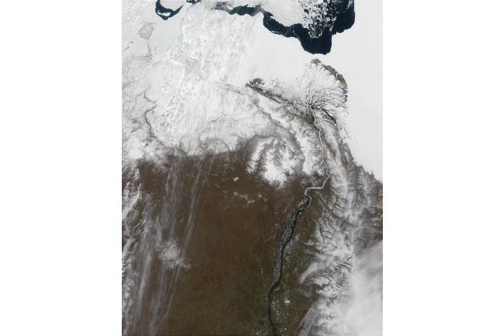 Delta of the Lena River, Russia - selected image