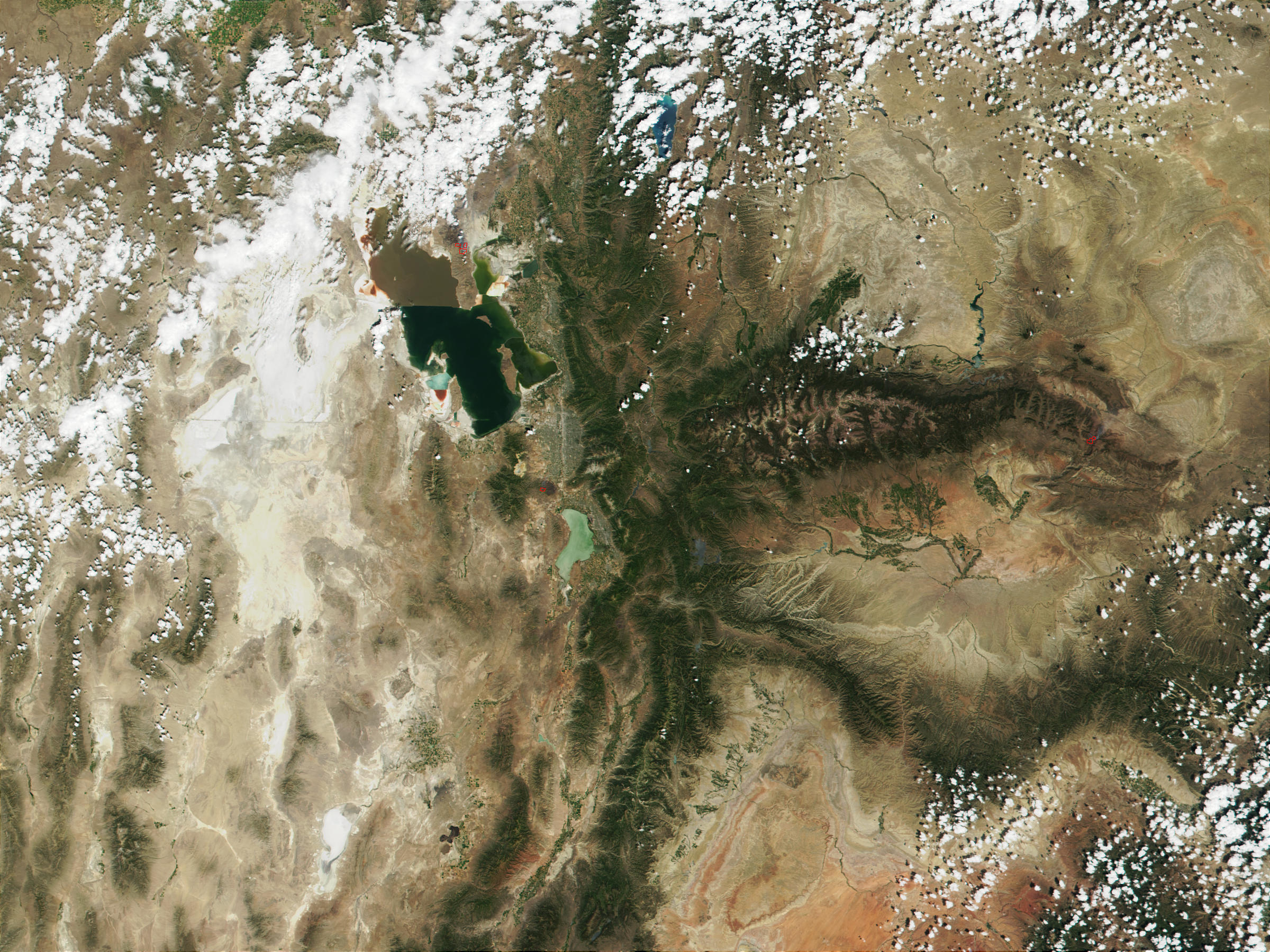 Fires near Salt Lake City, Utah - related image preview