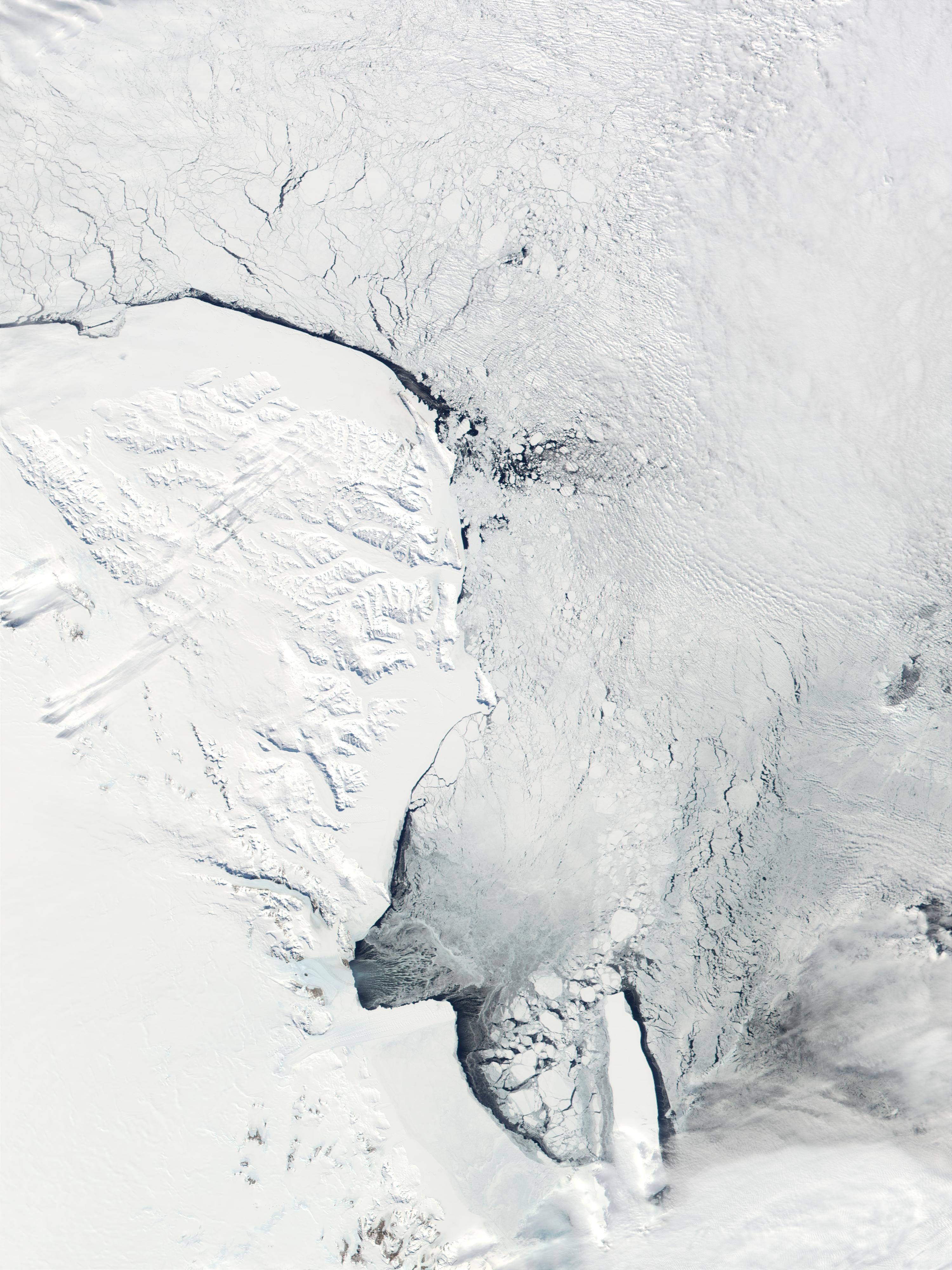 Victoria Land and Ross Sea, Antarctica - related image preview
