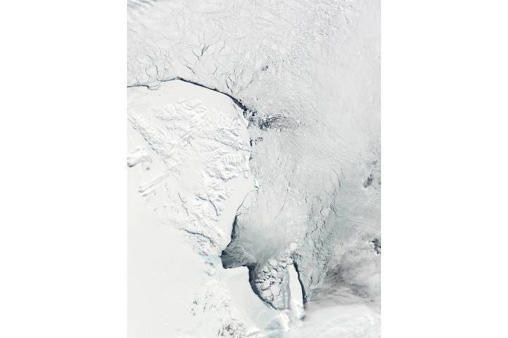 Victoria Land and Ross Sea, Antarctica - selected image