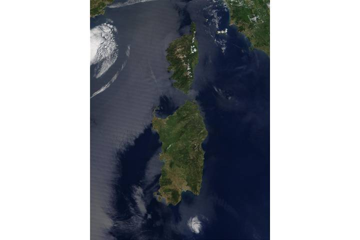 Corsica (France) and Sardinia (Italy) - selected image