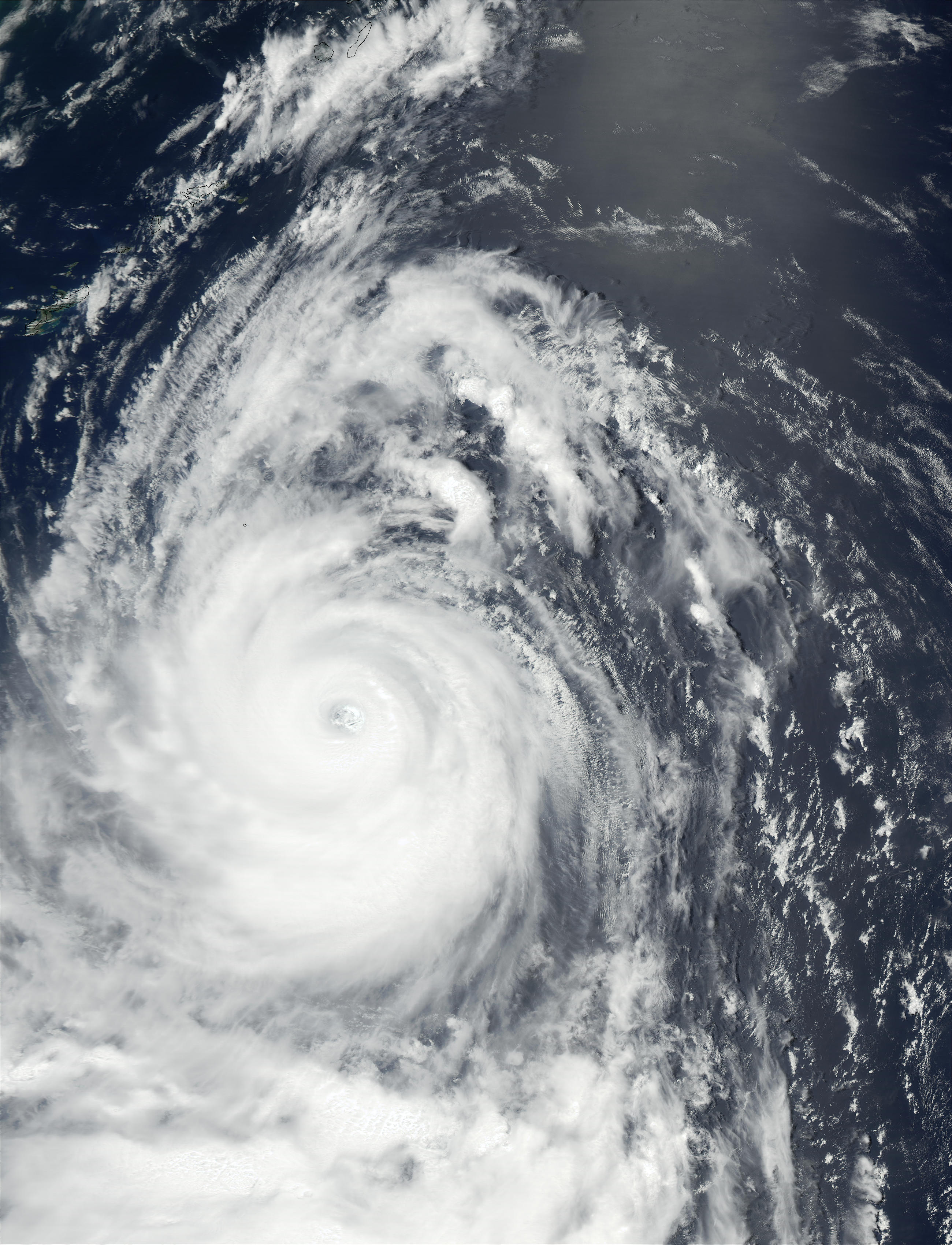 Typhoon Chataan (08W) south of Japan - related image preview
