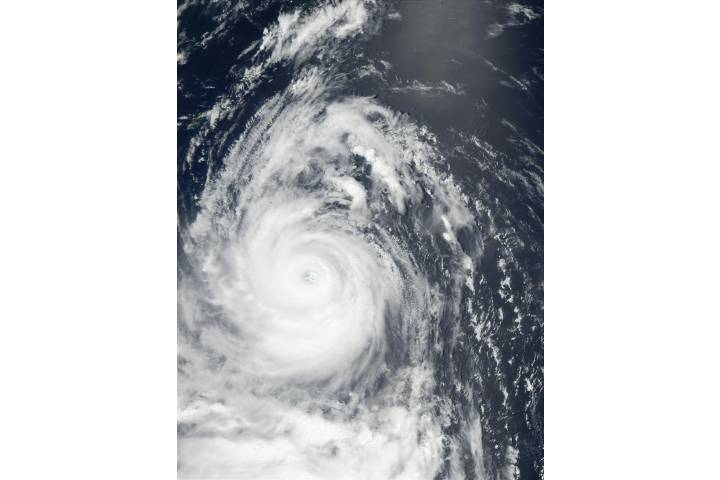 Typhoon Chataan (08W) south of Japan - selected image