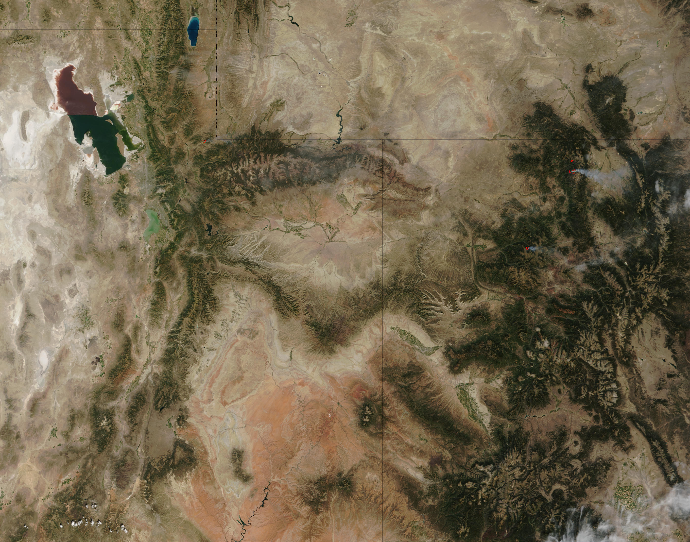 Fires in Colorado and Utah - related image preview