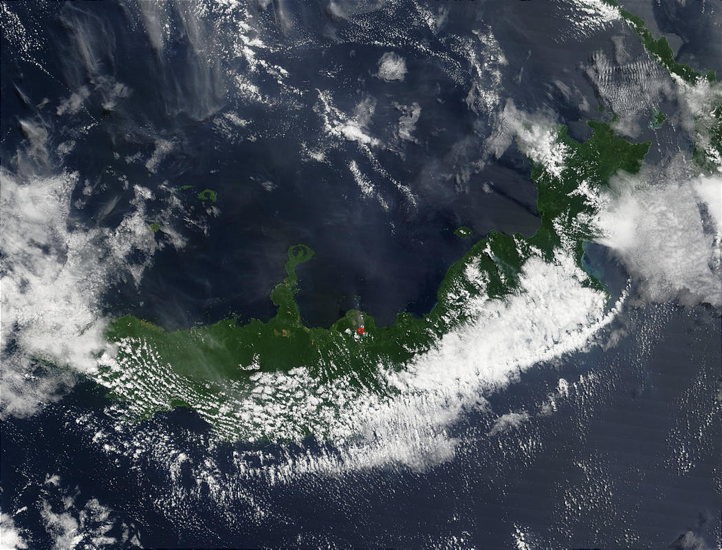 Eruption of Mount Pago Volcano, Papua New Guinea - related image preview