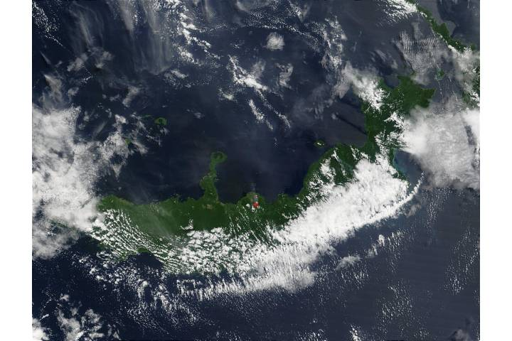 Eruption of Mount Pago Volcano, Papua New Guinea - selected image