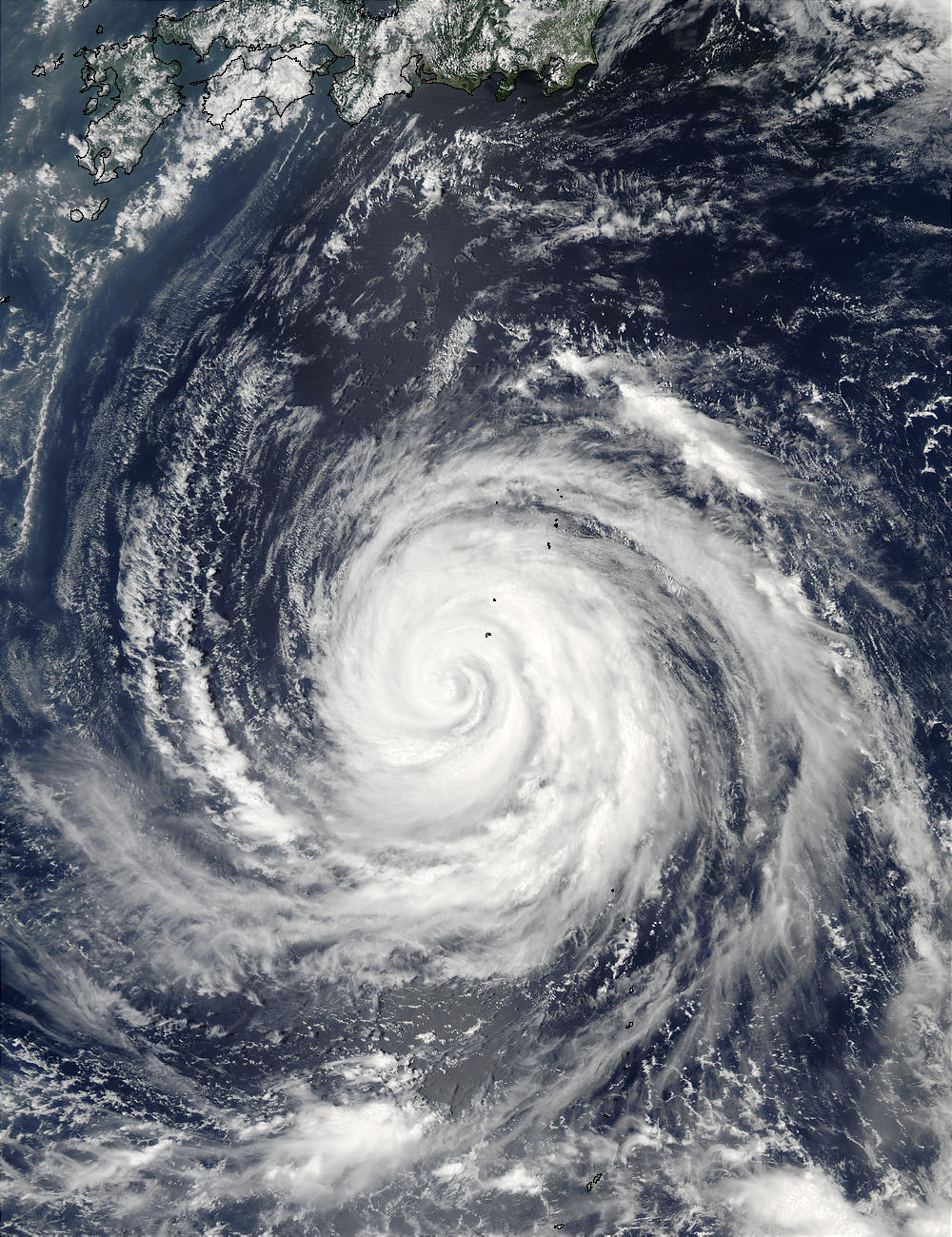 Typhoon Rusa (21W) south of Japan - related image preview