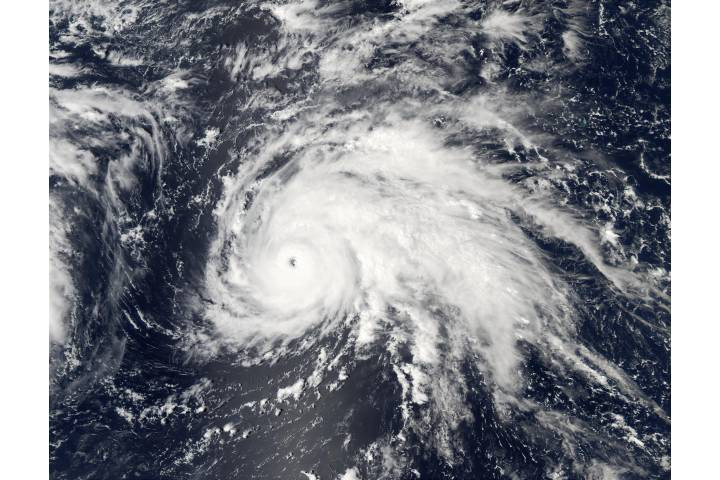 Typhoon Ele (02C), Central Pacific Ocean - selected image