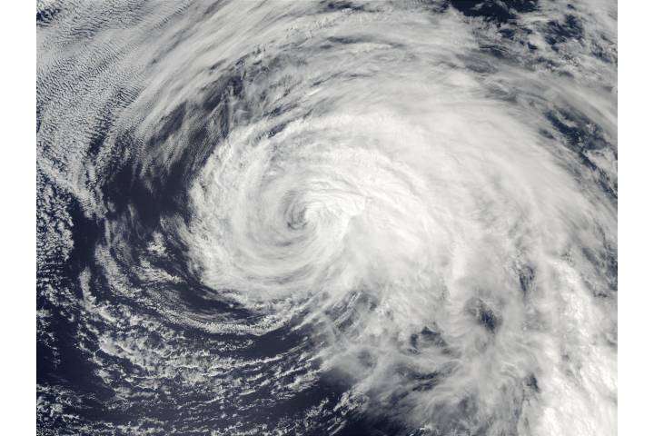 Typhoon Ele (02C) in Central Pacific Ocean - selected image