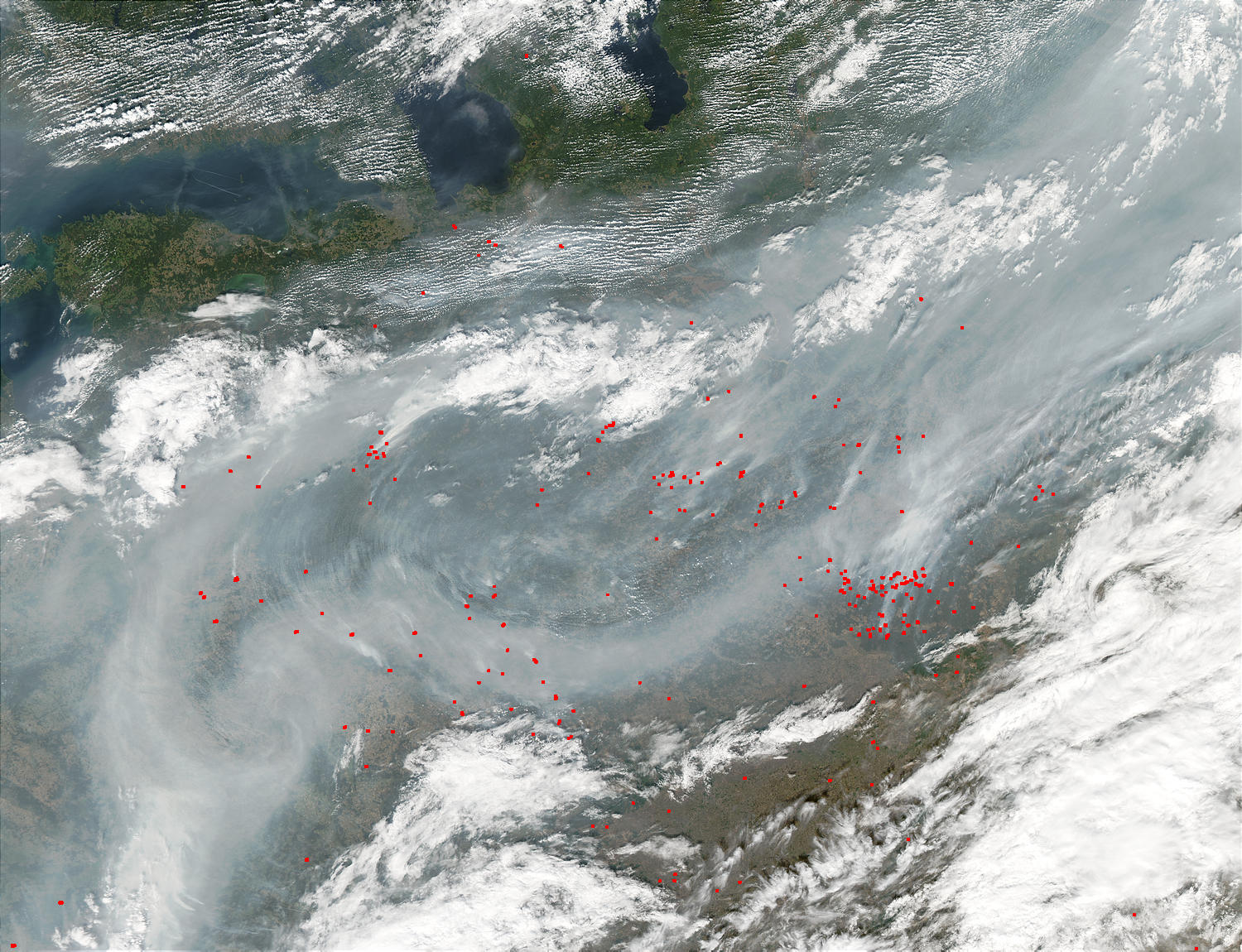 Fires and smoke in Russia and Belarus - related image preview