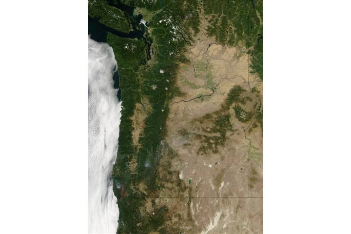 Oregon and Washington - selected image
