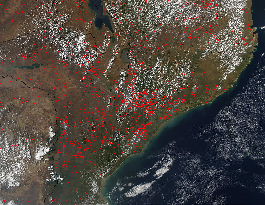 Fires in Mozambique - related image preview
