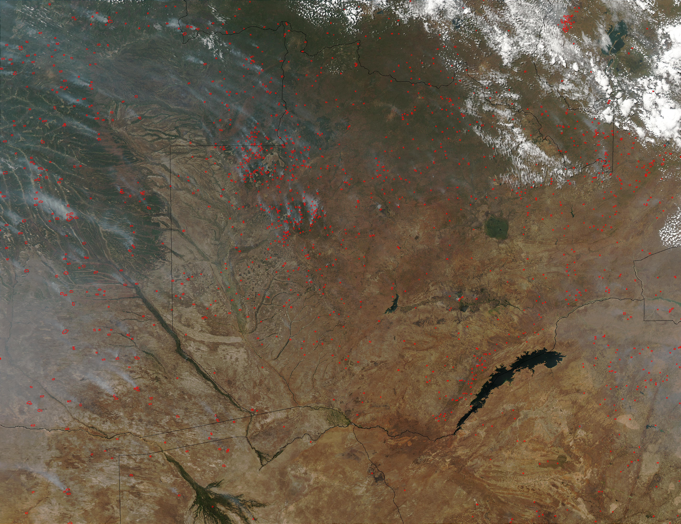 Fires in Zambia and Angola - related image preview
