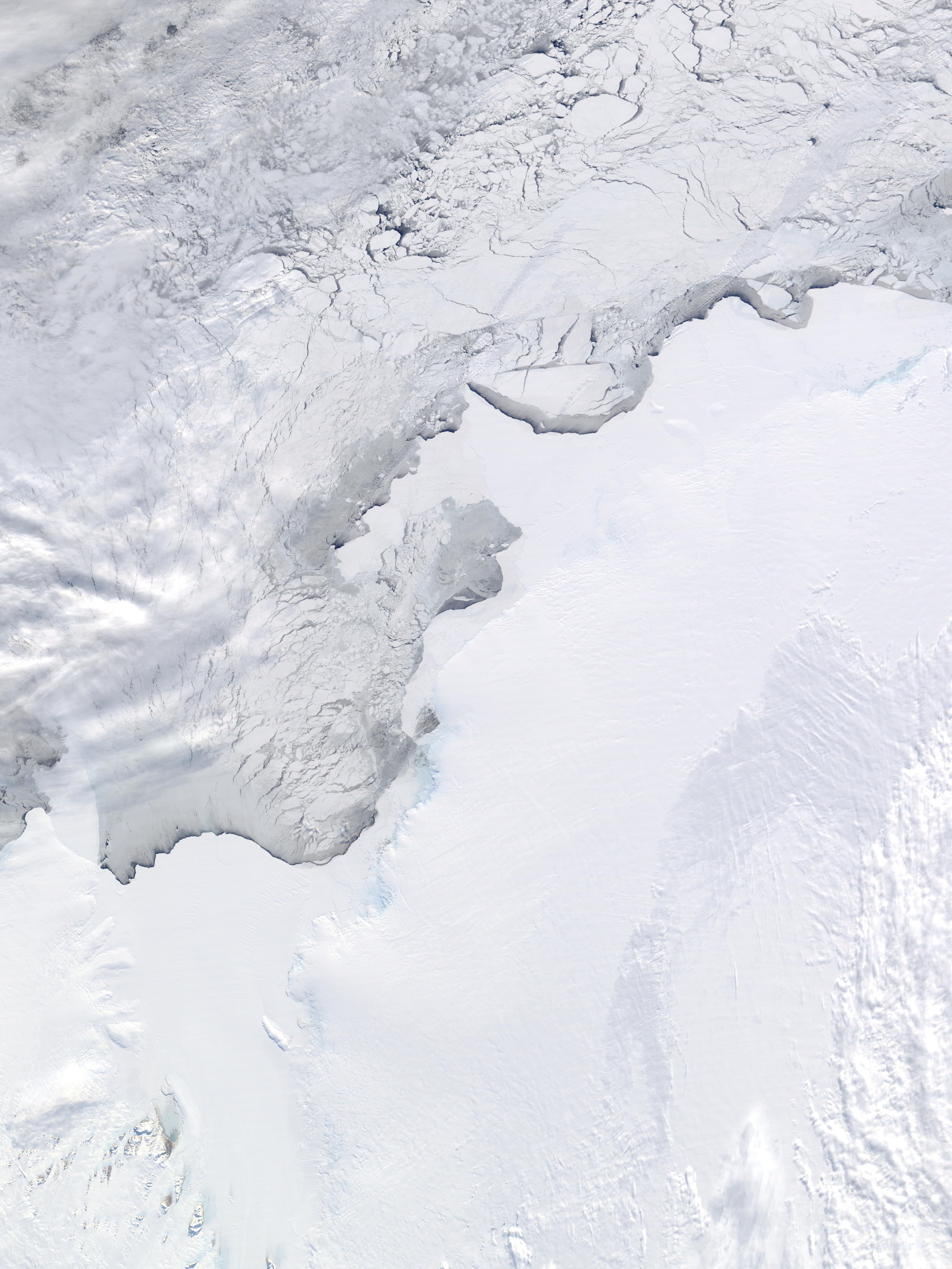 Amery Ice Shelf, Ingrid Christensen Coast, and West Ice Shelf, Antarctica - related image preview