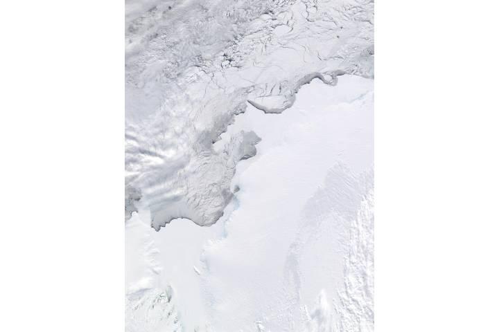 Amery Ice Shelf, Ingrid Christensen Coast, and West Ice Shelf, Antarctica - selected image