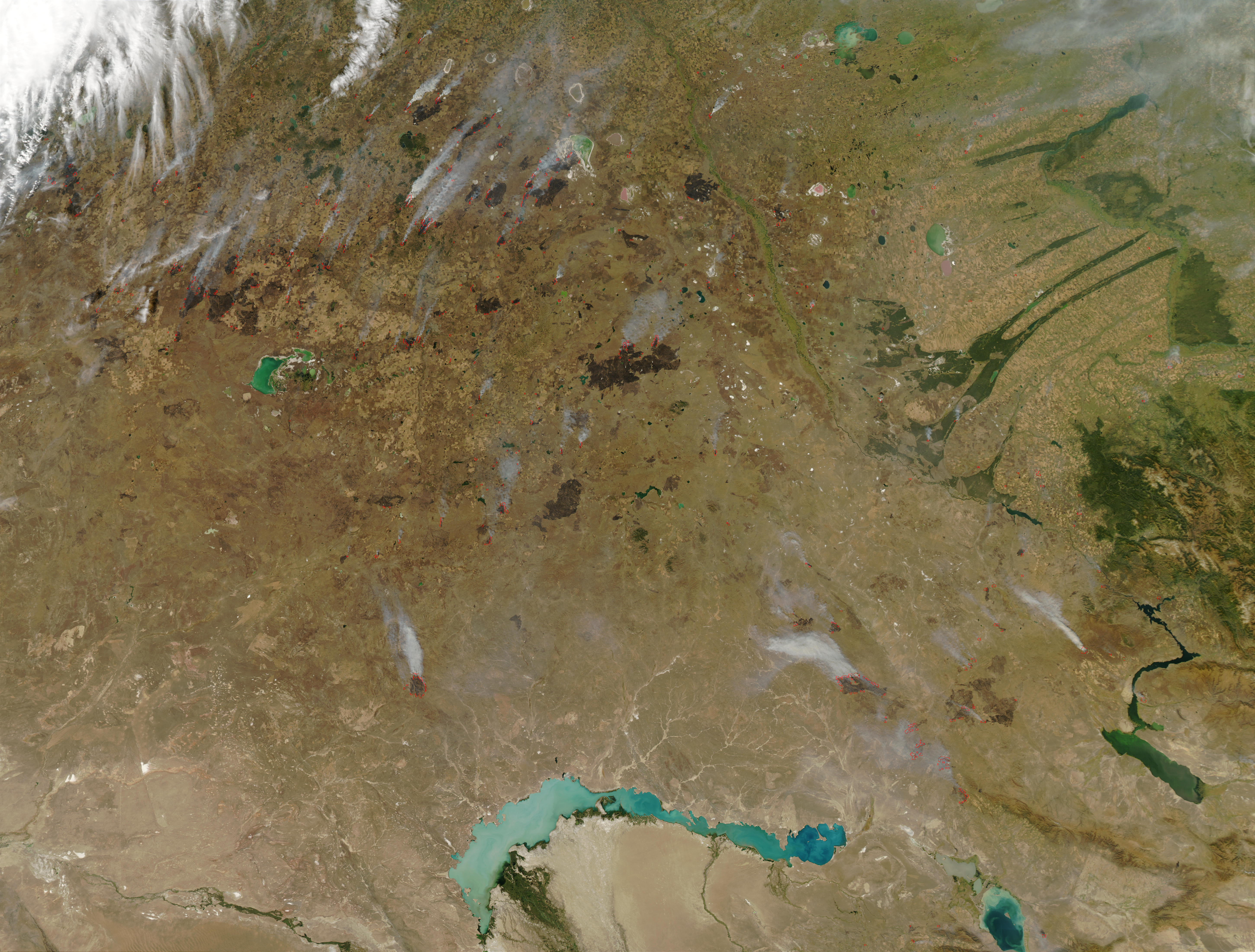 Fires in Kazakhstan - related image preview
