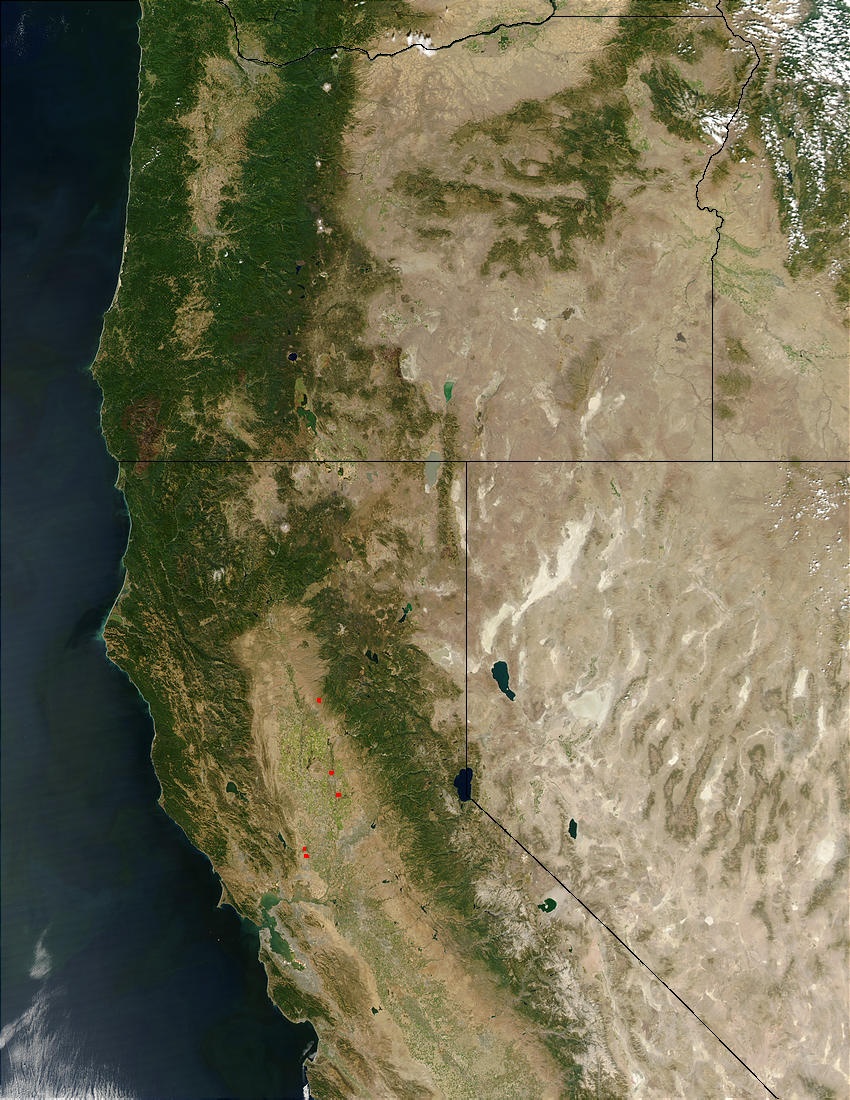 Oregon and California - related image preview