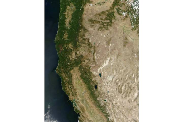 Oregon and California - selected image