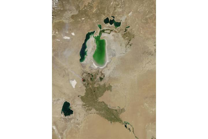 Aral Sea - selected image
