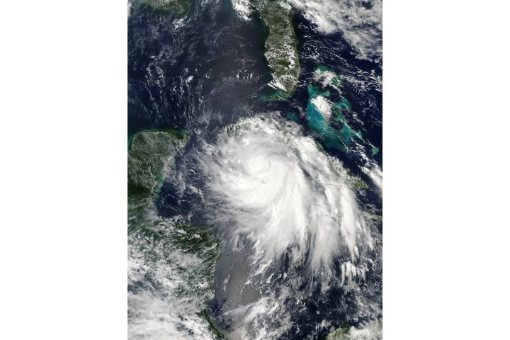 Tropical Storm Isidore south of Cuba - selected image