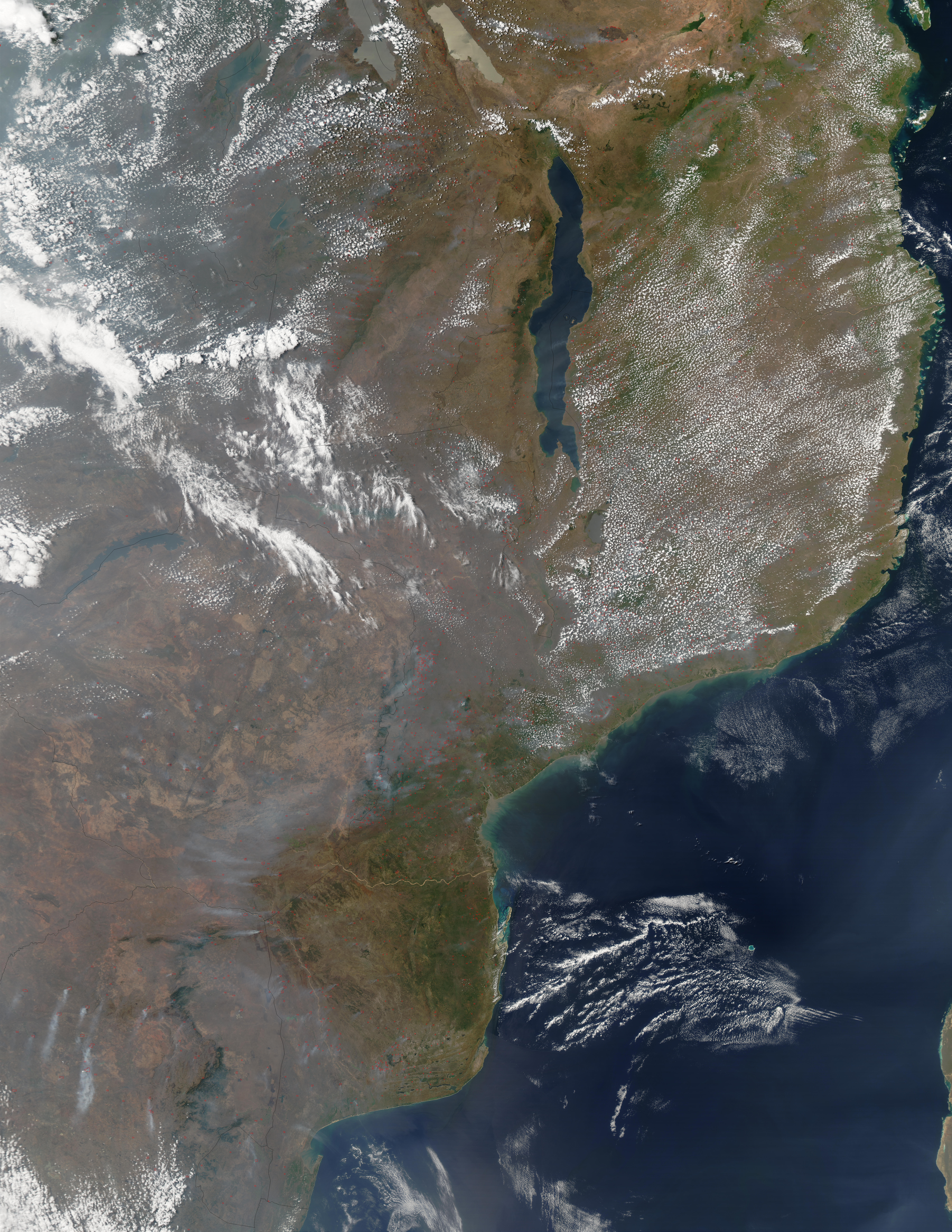 Fires in East Central Africa - related image preview