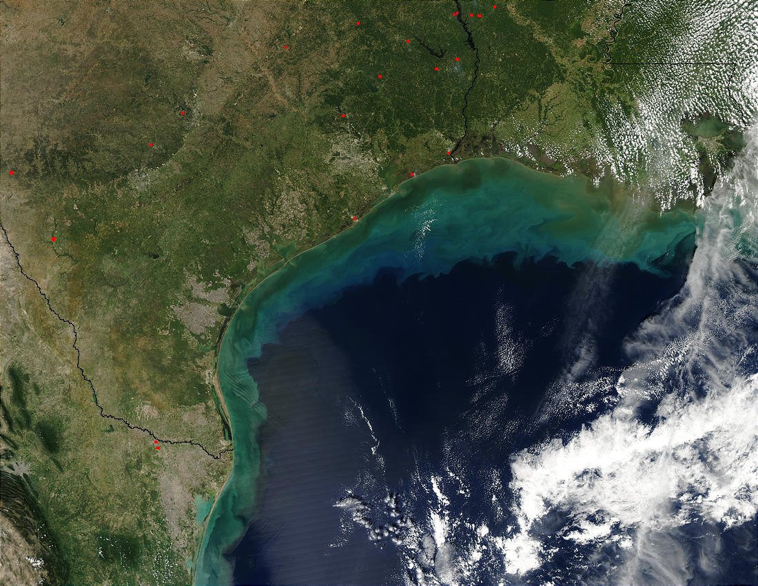 Sediments in Gulf of Mexico - related image preview